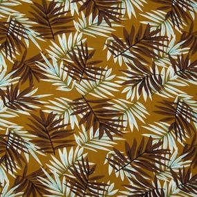 Ткань на отрез штапель Melissa D070 цвет коричневый фото