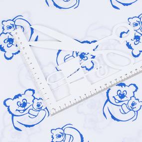 Поплин 150 см 393А/21 цвет василек фото