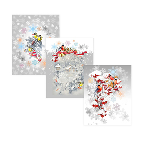 Набор полотенц рогожка 3 шт 45/60 см 11476-1 Морозко фото