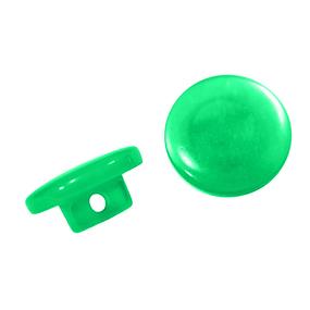 Пуговицы Т-18 11 мм цвет зеленый упаковка 24 шт фото