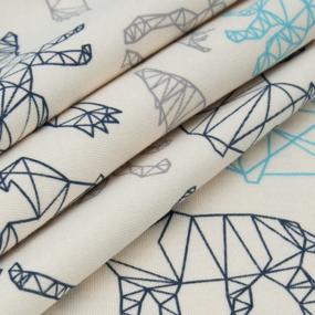 Ткань на отрез интерлок Оригами 495-21 фото