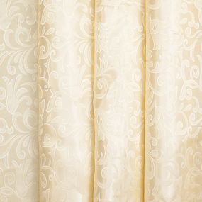 Маломеры портьерная ткань 150 см 100/2С цвет 72 бежевый 2.5 м фото