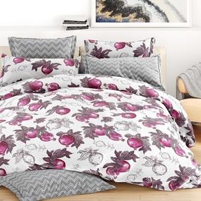 Ткань на отрез бязь 120 гр/м2 220 см 28606/2 Гранат цвет фиолетовый фото