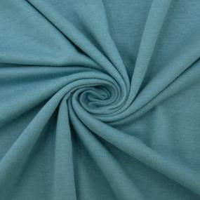 Ткань на отрез кулирка 6686 цвет ментол фото