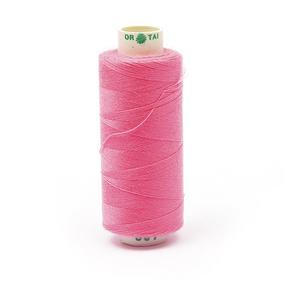 Нитки бытовые Dor Tak 40/2 366м 100% п/э, цв.501 розовый фото