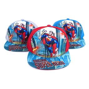 Бейсболка детская 3D Супермен фото
