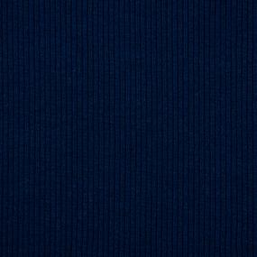 Ткань на отрез кашкорсе 3-х нитка с лайкрой цвет темный индиго фото