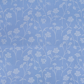 Наперник Тик кант молния 215 Ромашки цвет голубой серебро 40/60 фото