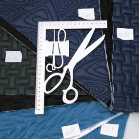 Весовой лоскут Курточная ткань стёганая от 0,4 до 0,8 м (ширина 135+/-5см) 1,560 кг фото