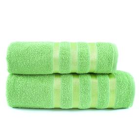 Полотенце махровое Аргос 50/80 см цвет зеленый фото