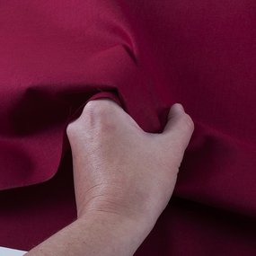 Ткань на отрез бязь ГОСТ Шуя 150 см 14300 цвет вишневый фото
