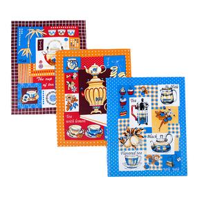 Набор вафельных полотенец 3 шт 45/60 см 556/3 Чаепитие фото