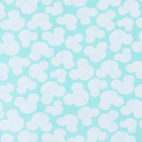 Мерный лоскут бязь плательная 150 см 1717/16 цвет мята 6 м фото