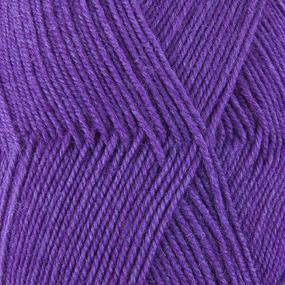 Пряжа для вязания ПЕХ Австралийский меринос 100гр/400м цвет 576 фиалка фото