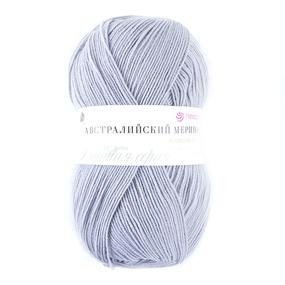 Пряжа для вязания ПЕХ Австралийский меринос 100гр/400м цвет 276 перламутр фото
