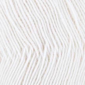Пряжа для вязания ПЕХ Австралийский меринос 100гр/400м цвет 001 белый фото