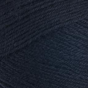 Пряжа для вязания ПЕХ Детский каприз 50гр/225м цвет 002 черный фото