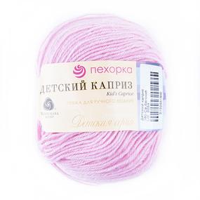 Пряжа для вязания ПЕХ Детский каприз 50гр/225м цвет 180 бегония фото