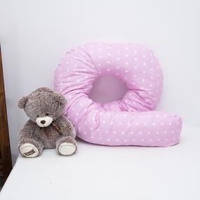 Подушка для беременных U-образная 1700/2 цвет розовый фото