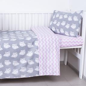 Постельное белье в детскую кроватку 119 фото