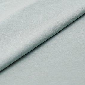 Ткань на отрез футер с лайкрой 4191-1 цвет аква фото