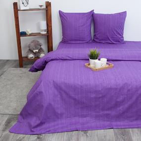 Пододеяльник из перкаля 2049310 Эко 10 фиолетовый, 2-x спальный фото