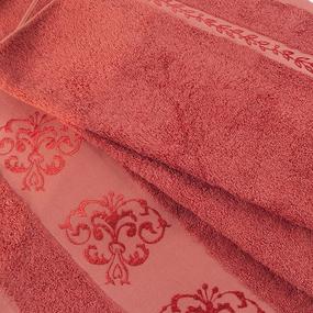 Полотенце махровое Sunvim 18В-4 50/90 см цвет терракотовый фото