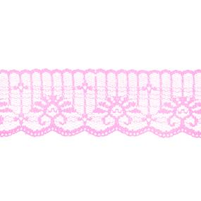 Кружево капрон 45 мм/10 м цвет 723 розовый фото