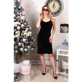 Платье Матильда черное Д512 р 56 фото