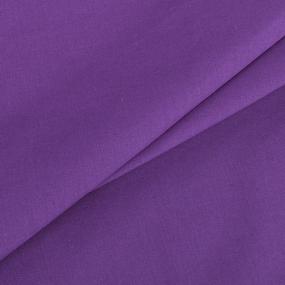 Поплин гладкокрашеный 220 см 115 гр/м2 цвет черника фото