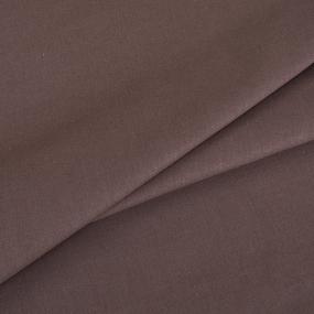 Поплин гладкокрашеный 220 см 115 гр/м2 цвет мокко фото