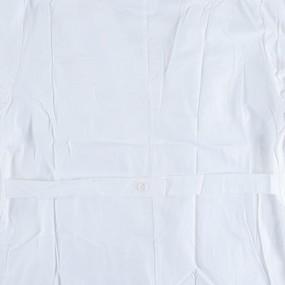 Халат женский классический рукав длинный бязь отбеленная ГОСТ 50-52 рост 172-176 с хранения уценка фото