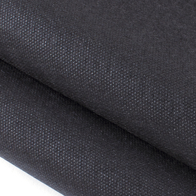 Ткань на отрез спанбонд 55 гр/м2 160 см цвет черный фото