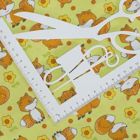 Ткань на отрез бязь ГОСТ Шуя 150 см 9950/1 Лисички фото