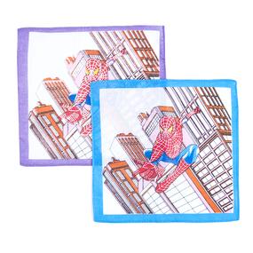 Платки носовые детские 20х20 Spider-Man (10 шт) фото