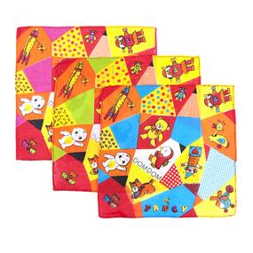 Платки носовые детские 20х20 Игрушки (10 шт) фото