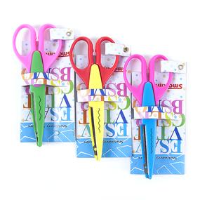 Ножницы для рукоделия фигурные расцветки в ассортименте фото