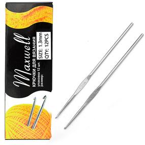 Крючок для вязания Maxwell Black артТВ-CH03 1,3 мм фото