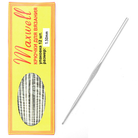Крючок для вязания Maxwell Black артТВ-CH03 1,5 мм фото