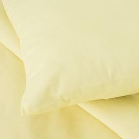 Постельное белье бязь Желтый 1.5 сп с 1-ой нав. 70/70 фото