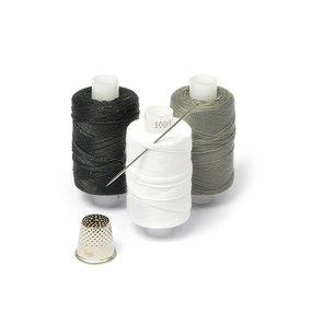 Нитки армированные 100ЛЛ Мастеровой цв.белый, серый, черный уп.3шт 200м С-Пб фото