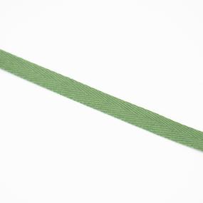 Тесьма киперная 10 мм хлопок 1,8г/см арт.08с-3495 цв.зеленый 009 фото