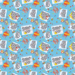 Бязь 100 гр/м2 150 см ТР 0543/3 цвет голубой фото