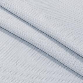 Ткань на отрез вафельное полотно гладкокрашенное 150 см 165 гр/м2 цвет серый фото