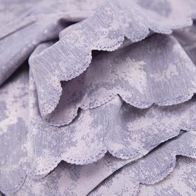 Портьерная ткань на отрез Мрамор 517/23 цвет сиреневый фото