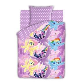 КПБ 1.5 бязь My Little Pony (50х70) рис. 8920-1/8921-1 Небесные пони фото