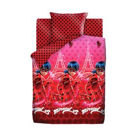 КПБ 1.5 хлопок LadyBug (50х70) рис. 16024-1/16023-1 Леди Баг фото