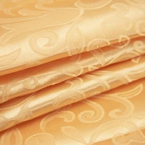 Маломеры Портьерная ткань 150 см 100/2С цвет 12 золото 1,2 м фото