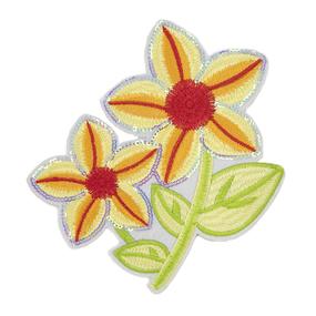 Термоаппликации ТАВ_Ц 1983 цветок ярко желтый 15*14см фото