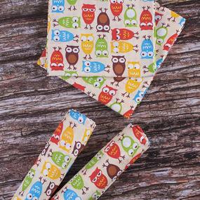 Набор детских пеленок поплин 4 шт 73/120 см 1799/2 цвет бежевый фото
